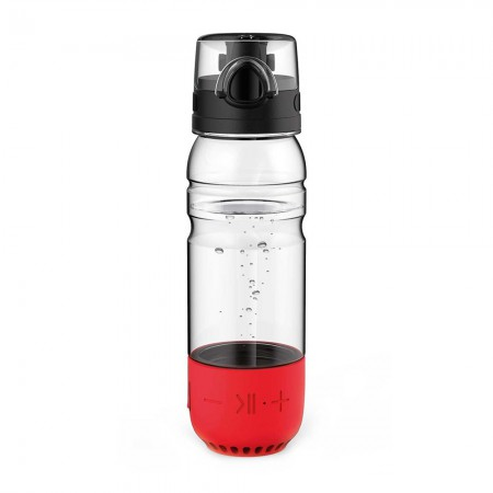 Music Bottle Speaker 2 - red