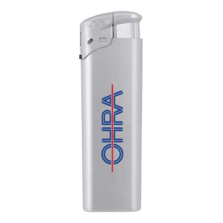 Electronic FBL lighter silver