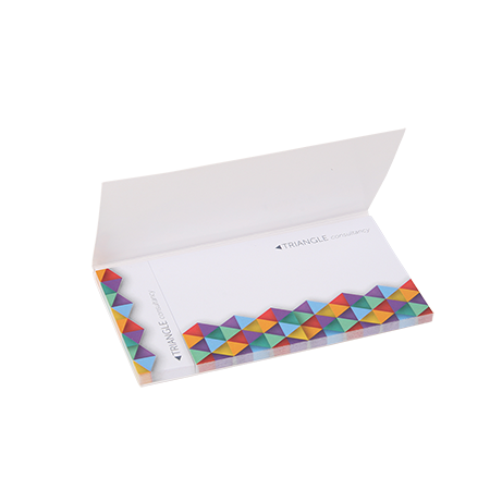 Sticky notes in cover 2 in 1, 25 sheet