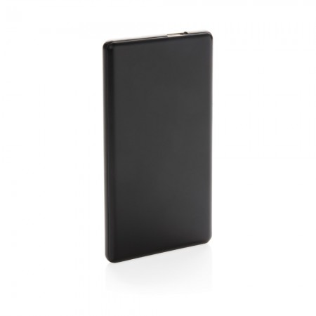 4.000 mAh light up logo powerbank, black