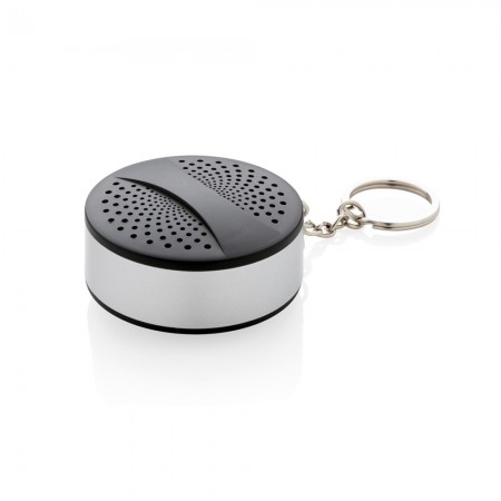 Keychain wireless speaker, black