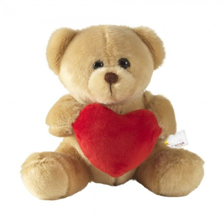 With Love Bear cuddly toy