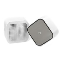 The Square Stereo Set - silver