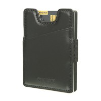 Valenta Card Case Money Strap - black