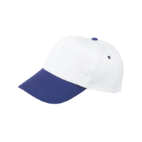 5 Panel cap with coloured peak
