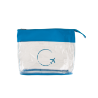 Toiletry bag transparant