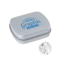 Small tin extra strong mints