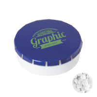 Super round plastic Click container 45 mm