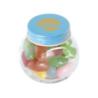 Small candy jar jelly beans