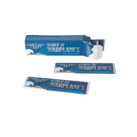Paper box with 6 strips of Wrigley chewing-gum