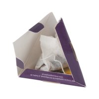 1 pyramid tea-bag in pyramid paper box
