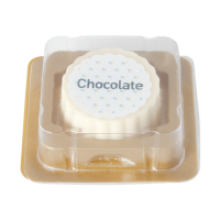 Logo bonbon white chocolate