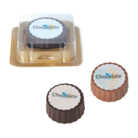 Logo bonbon, dark, milk chocolate