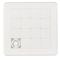 Sliding puzzle game rectangular