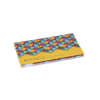 Sticky notes in cover 2 in 1, 100 sheet
