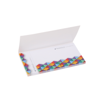 Sticky notes in cover