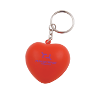 Anti-stress Heart key-ring