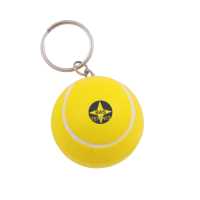 Anti-stress Tennis-ball key-ring