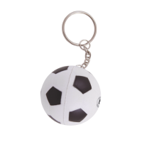 Anti-stress Football key-ring