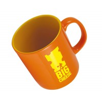 Pantone Matched Durham Glazed ColourCoat Mug Black