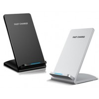 Wireless Charger Apex Stand - Silver