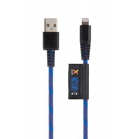 Xtorm Solid Blue Lightning USB cable (1m)