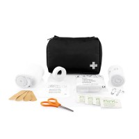 Mail size first aid kit