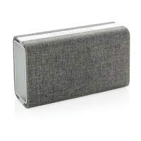 Vogue fabric speaker and powerbank, grey