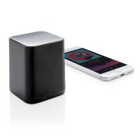 Light up logo wireless speaker, black