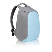 Bobby compact anti-theft backpack pastel blue