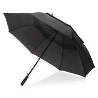 Swiss Peak Tornado 30 storm umbrella, black""