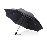 Swiss Peak 23 foldable reversible auto open/close umbrella,""