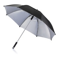"27"" Hurricane storm umbrella, black"