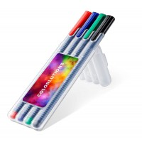 STAEDTLER triplus ball, box with 4 pens