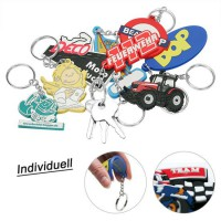 Soft PVC key ring