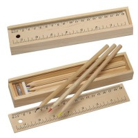 Wooden box painting set