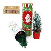 Tube XL with christmas tree and minilights