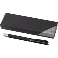 Pedova rollerball pen with leather barrel
