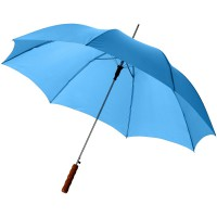 Lisa 23 auto open umbrella with wooden handle""
