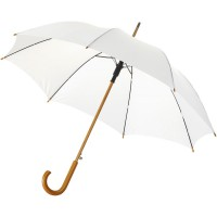 Kyle 23 auto open umbrella wooden shaft and handle""