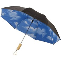 Blue-skies 21 foldable auto open umbrella""