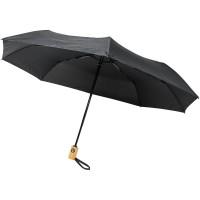 Bo 21 fold. auto open/close recycled PET umbrella""