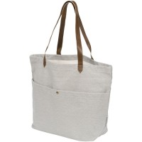 Harper cotton canvas book tote bag