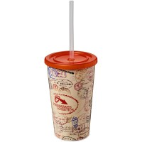 Brite-Americano® 350 ml double-walled stadium cup