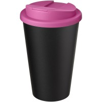Americano® Eco 350 ml recycled tumbler with spill-proof lid