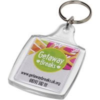 Leor A4 keychain with metal clip