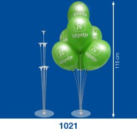Table display for balloons