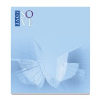 BIC® 68 mm x 75 mm 25 Sheet Adhesive Notepads Ecolutions®