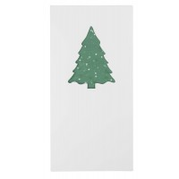 Greeting-card withseed paper fir tree 4/0c