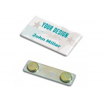Name badge, personalized